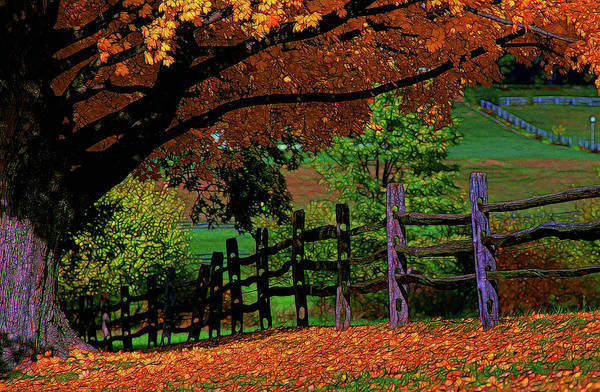 Wall Art - Photograph - Autumn In The Valley by Mike Flynn