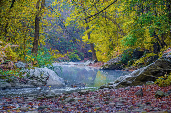 Wall Art - Photograph - Autumn In The Wissahickon Valley by Bill Cannon
