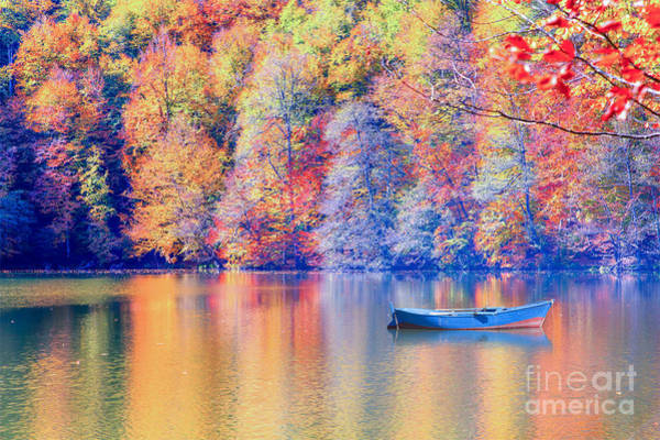 Wall Art - Photograph - Autumn Landscape In Seven Lakes by Muratart