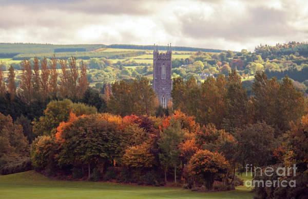 Photograph - autumn landscape of  Ireland  by Ariadna De Raadt