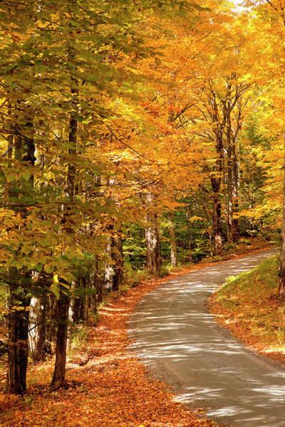 Vermont Photograph - Autumn Landscape, Woodstock, Vermont by Danita Delimont