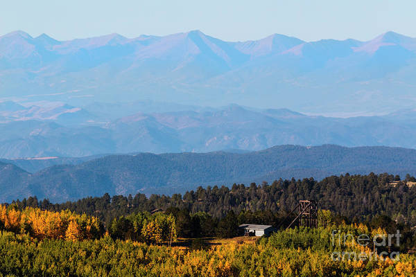 Photograph - Autumn Leaves In The Mining District by Steve Krull