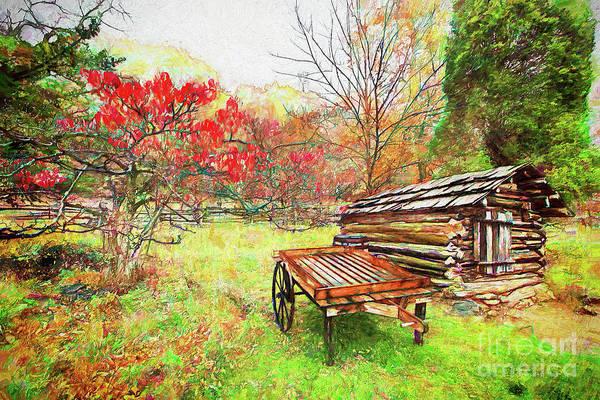 Wall Art - Painting - Autumn Memories Ap by Dan Carmichael