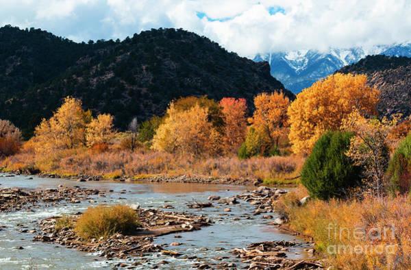 Photograph - Autumn On The Arkansas River by Steve Krull
