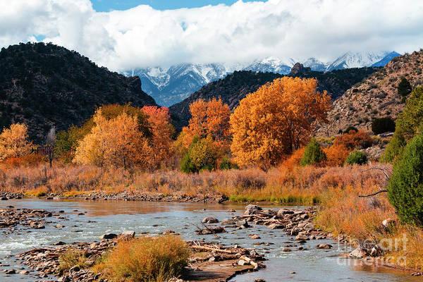 Photograph - Autumn On The Arkansas by Steve Krull