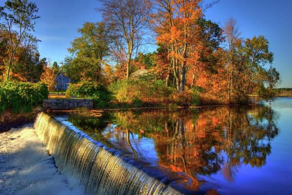 Wall Art - Photograph - Autumn On The Reservoir by Joann Vitali