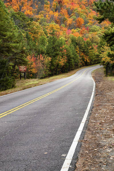 Photograph - Autumn On The Talimena Scenic Byway by Gregory Ballos