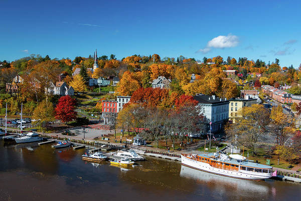 Photograph - Autumn On The Waterfront by Jeff Severson