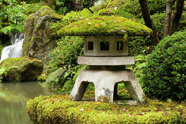 Wall Art - Photograph - Autumn, Pagoda, Japanese Garden by Panoramic Images