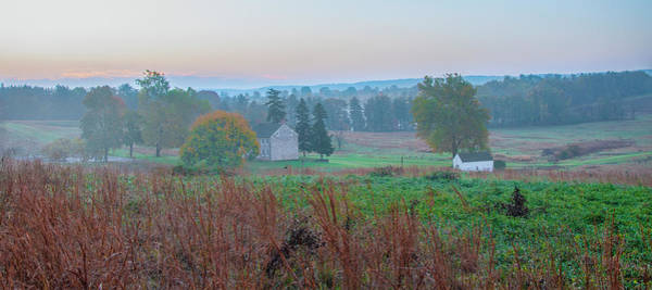 Photograph - Autumn Panorama - Valley Forge by Bill Cannon