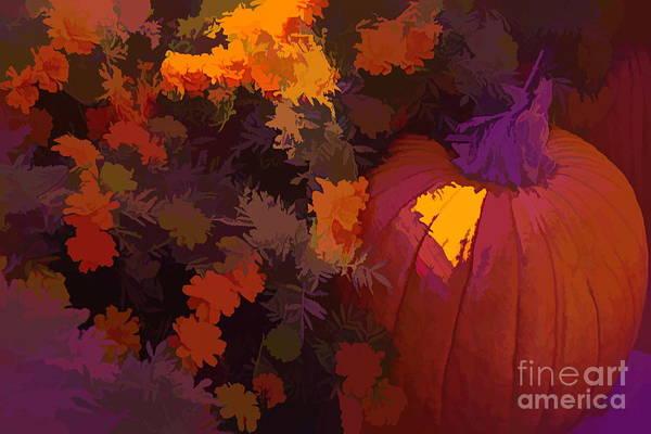 Photograph - Autumn Pumpkin by Diana Mary Sharpton