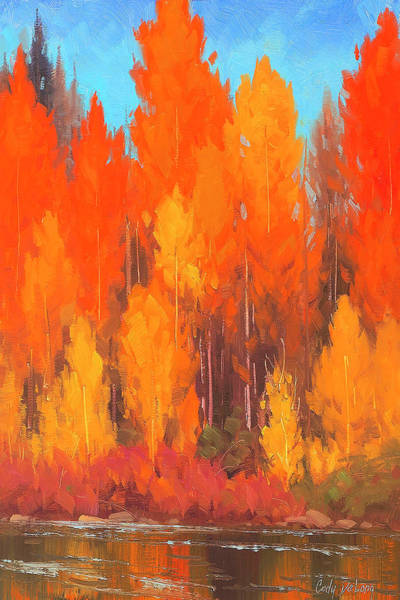Wall Art - Painting - Autumn Repose by Cody DeLong