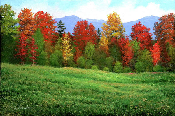 Painting - Autumn Rhapsody by Frank Wilson