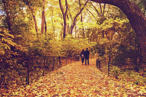 Wall Art - Photograph - Autumn Romance - New York City by Vivienne Gucwa