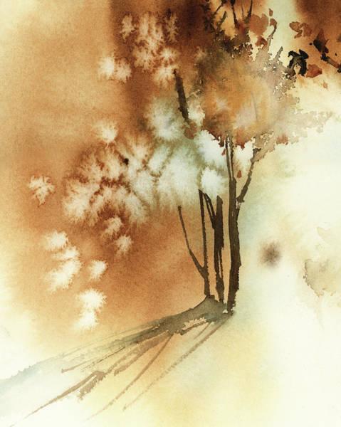 Wall Art - Painting - Autumn Rust by Sophia Rodionov