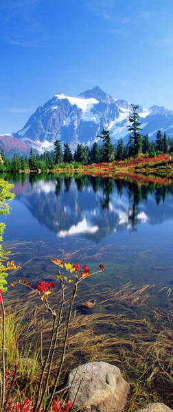 Wall Art - Photograph - Autumn Scenic, Picture Lake, Mt by Stuart Westmorland