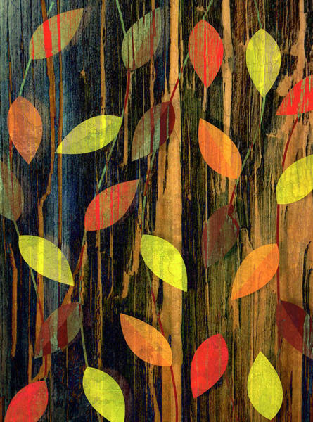 Season Digital Art - Autumn Season Leaves by Jupiterimages