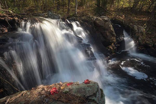 Photograph - Autumn - Secret Waterfall 2 by Brian Hale