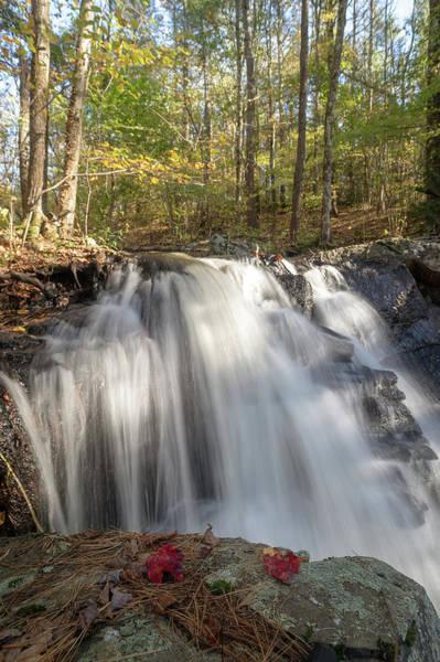 Photograph - Autumn - Secret Waterfall 3 by Brian Hale