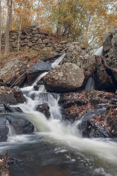 Photograph - Autumn - Secret Waterfall by Brian Hale