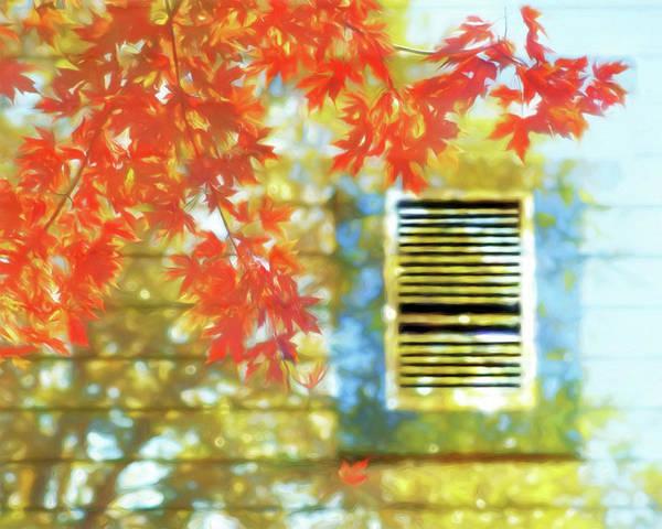 Wall Art - Photograph - Autumn Shadows With Window by Nikolyn McDonald