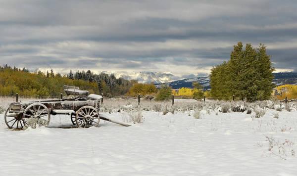 Photograph - Autumn Snow  by Ronnie and Frances Howard