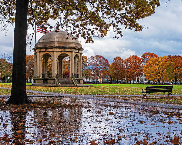 Photograph - Autumn Storm On The Salem Commons Salem Ma by Toby McGuire