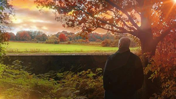 Photograph - Autumn Stroll by Alison Frank