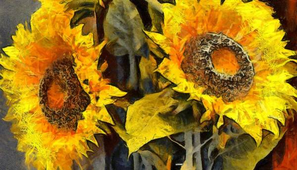 Photograph - Autumn Sunflowers by Floyd Snyder