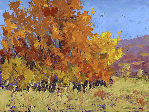 Painting - Autumn Treasure by David King
