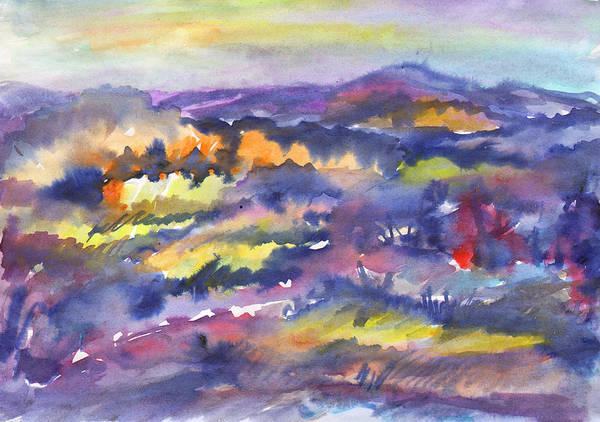 Painting - Autumn Valley by Irina Dobrotsvet
