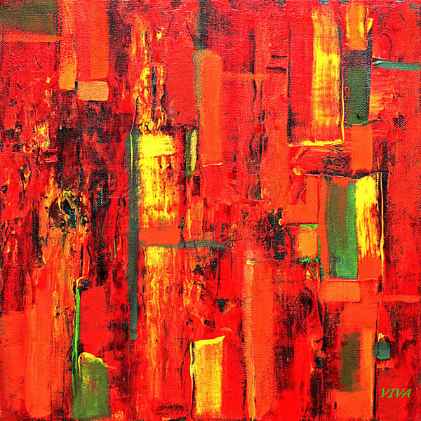 Painting - Autumn by VIVA Anderson