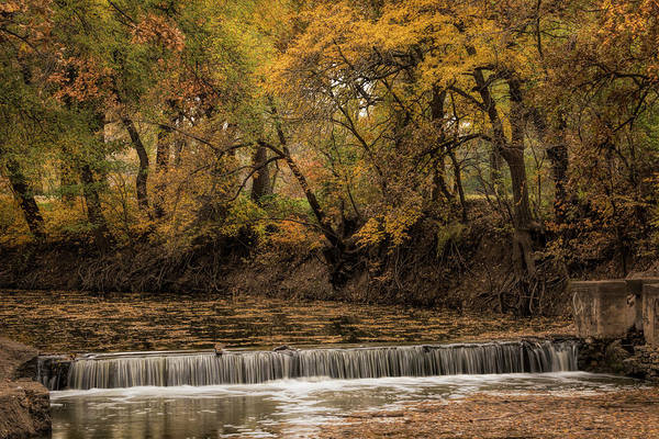 Photograph - Autumn Waterfall by Scott Bean