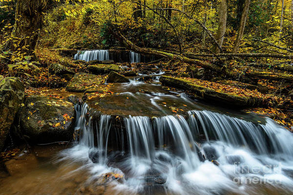 Photograph - Autumn Waterfalls  by Thomas R Fletcher