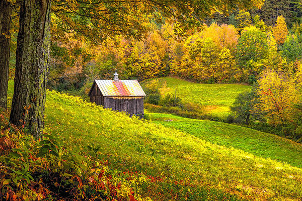 Photograph - Autumnal Barn by Rod Best