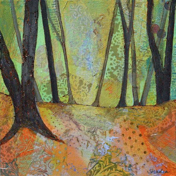 Wall Art - Painting - Autumn's Arrival I by Shadia Derbyshire