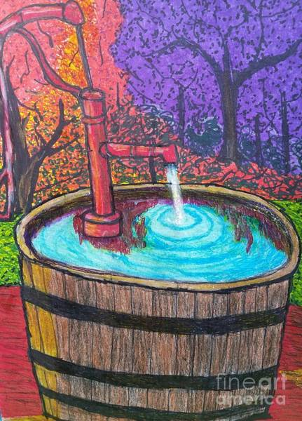 Pump Drawing - Autumn's Back by Ishy Christine MudiArt Gallery