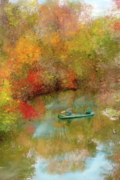 Wall Art - Mixed Media - Autumn's Beauty by Mary Timman