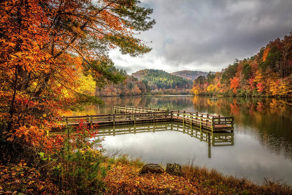 Photograph - Autumn's Sweet Peace by Debra and Dave Vanderlaan