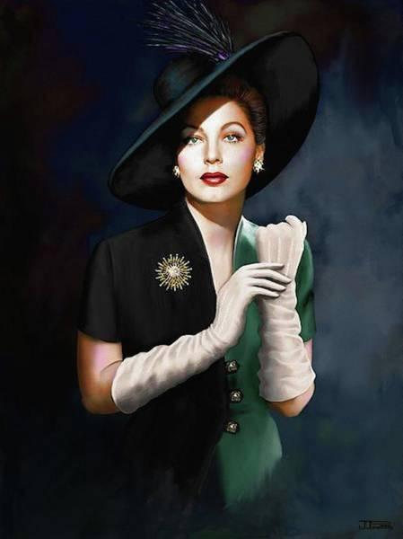 Bogart Digital Art - AVA by Jann Paxton