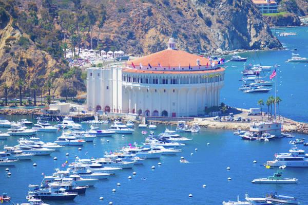 Wall Art - Photograph - Avalon Bay And Avalon Casino, Catalina Island by Art Spectrum
