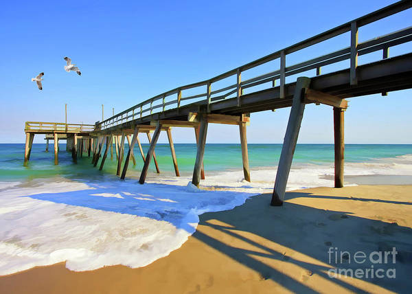 Avalon Pier Art Print