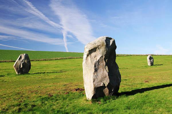 Prehistoric Era Wall Art - Photograph - Avebury, Wiltshire, England by Latitudestock - Chris  Cole
