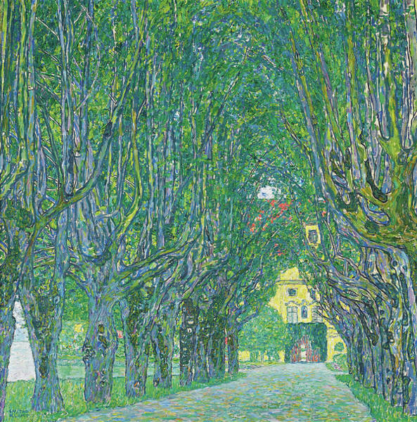 Wall Art - Painting - Avenue In The Park Of Schloss Kammer, 1912 by Gustav Klimt