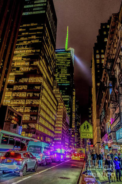 Photograph - Avenue Of The Americas Manhattan by Thomas Marchessault