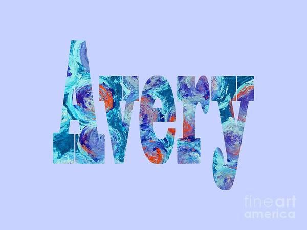 Digital Art - Avery by Corinne Carroll