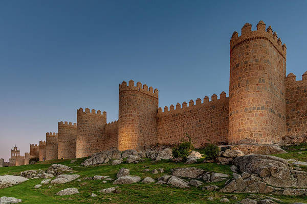 Wall Art - Photograph - Avila's Medieval Walls by W Chris Fooshee