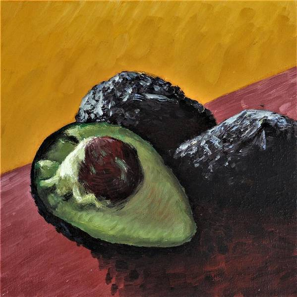 Wall Art - Painting - Avocados by Nicholas Smith