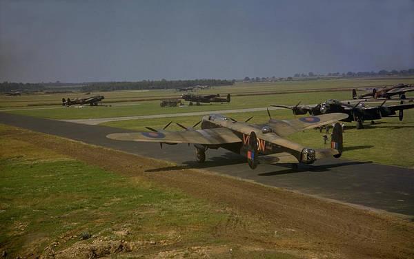 Wall Art - Photograph - Avro Lancaster by Fox Photos