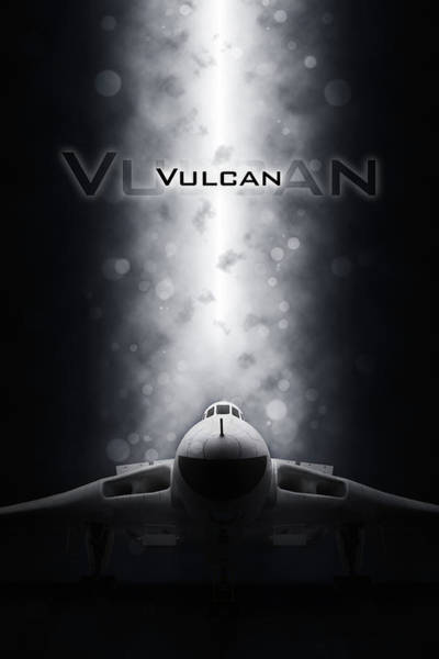 Wall Art - Digital Art - Avro Vulcan by J Biggadike